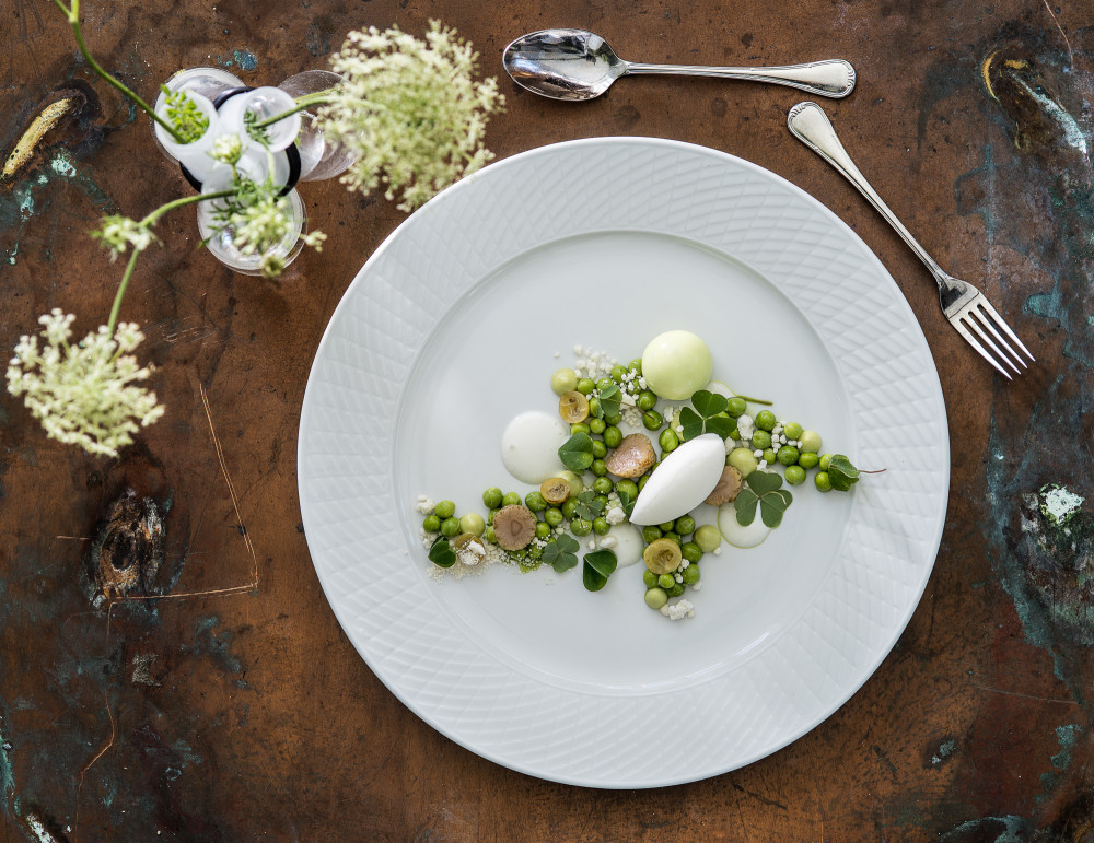 Dessert image from the danish chef Daniel Kruse mad for Gastro