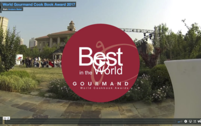 OUR THANKYOU SPEECH at World Gourmand cook book award