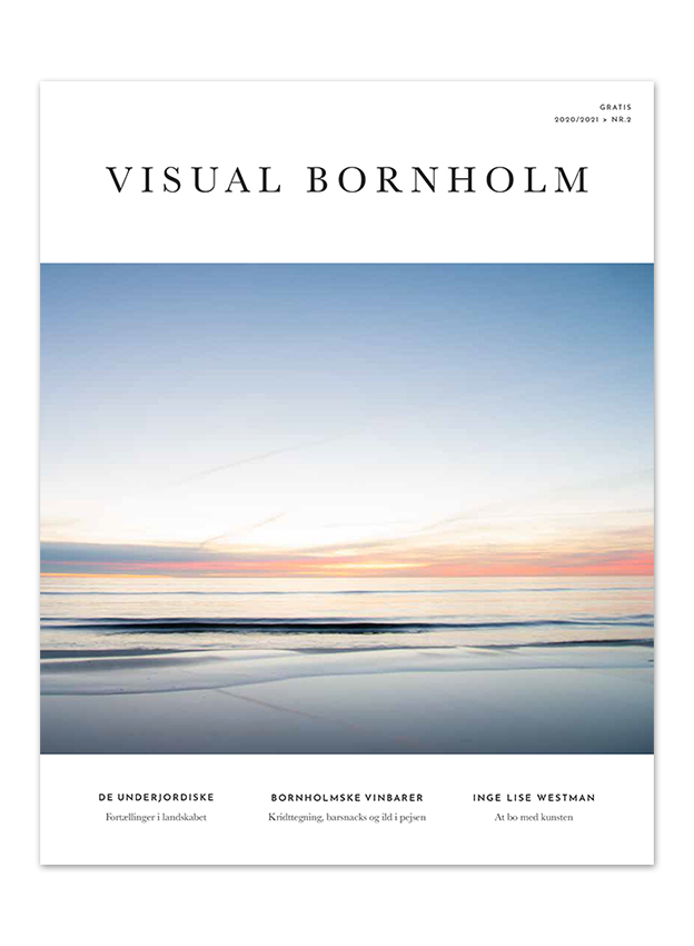 Visual Bornholm 2020 -frontcover by Anders Beier
