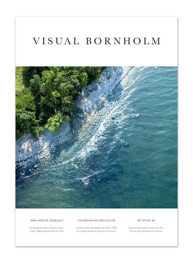Visual Bornholm 2019 front cover by Anders Beier